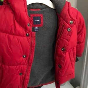 Baby Gap Puffer Coat & Hat